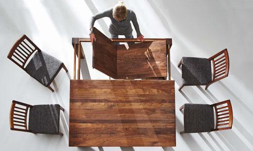 Kattwinkel Massivholz Tisch Lagos