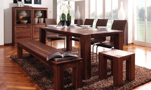 Kattwinkel Massivholz Tisch Madeira